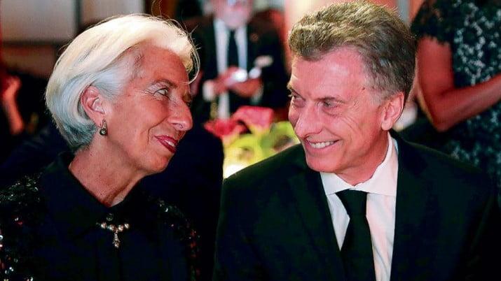 """Lagarde destacó la """"disciplina"""" de Macri para ajustar"""