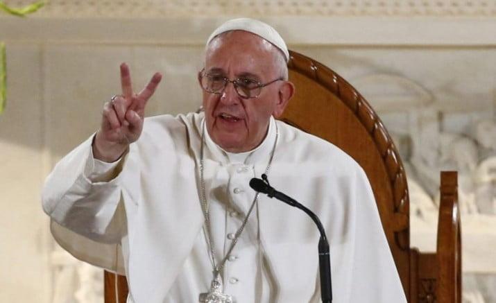Contudente mensaje de Francisco a los gobiernos deshonestos