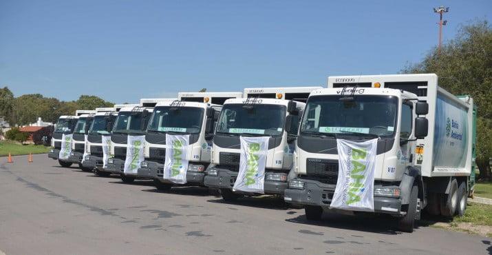 Bahía Ambiental Sapem incorporó 16 camiones a su flota