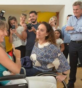 Gabriela Michetti visitó Bahía Blanca