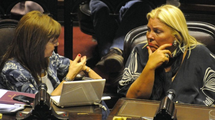 Carrió redobla la apuesta: pide que el decreto de Bullrich sobre el uso de armas pase por el Congreso
