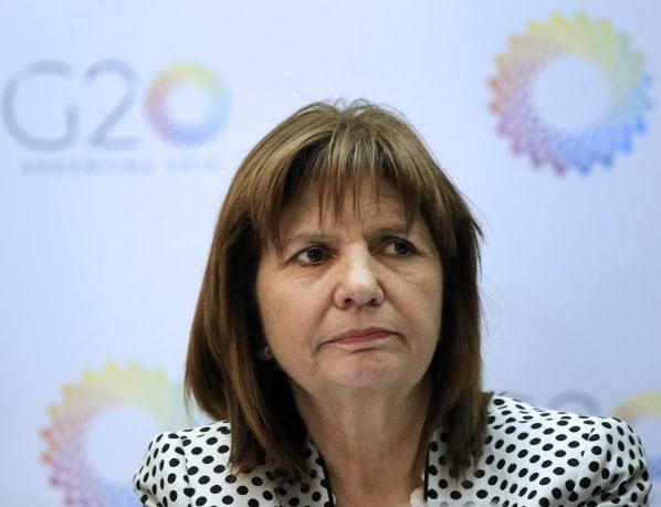 Bullrich aseguró que Macri apoya nuevo protocolo de armas