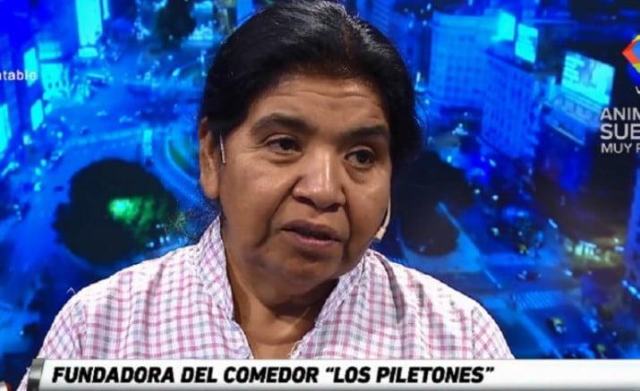"""Margarita Barrientos: """"Estamos sirviendo 2700 platos por día y no alcanza"""""""
