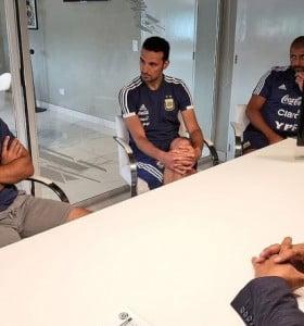 Ayala se suma al equipo de Scaloni