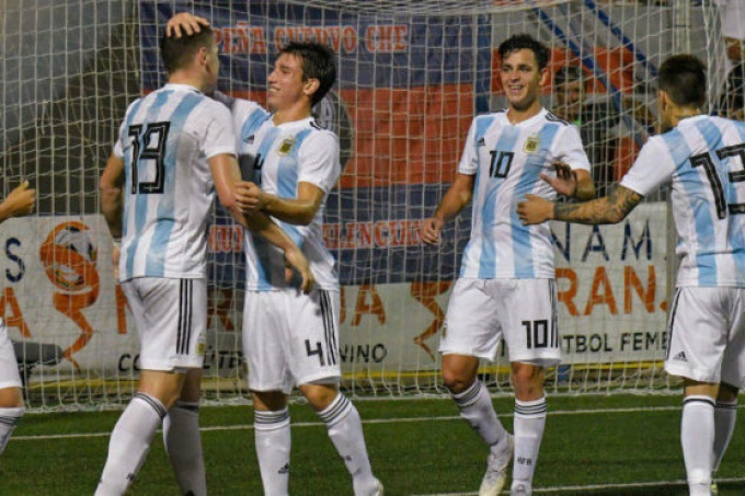 Argentina ya está en Chile