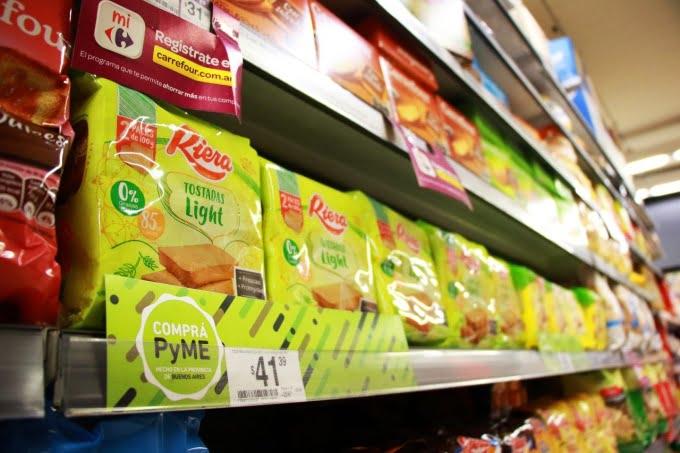 Más de mil productos de emprendimientos bonaerenses están en grandes supermercados