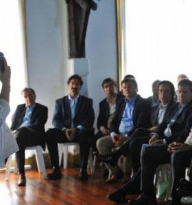 Primera reunión de gabinete de Vidal