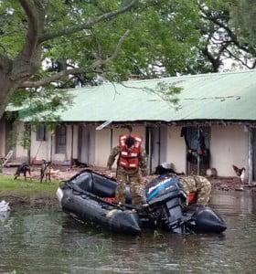 Más de 5.000 personas siguen evacuadas. Deja de llover