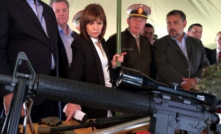 Superpoderosa: Macri le entregó a Patricia Bullrich el control de las armas