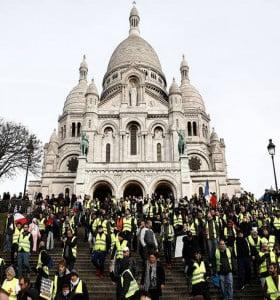 Tres meses de protestas de los chalecos amarillos