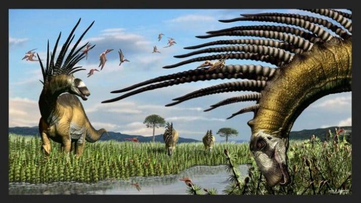 Presentaron restos de un dinosaurio que vivió hace 140 millones de años