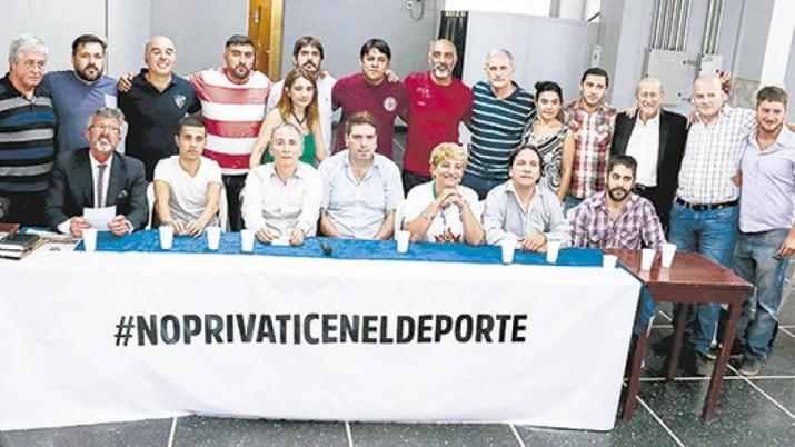 Todos contra la privatización