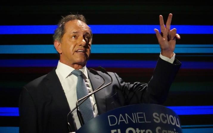 Scioli confirmó que volverá a ser candidato a Presidente