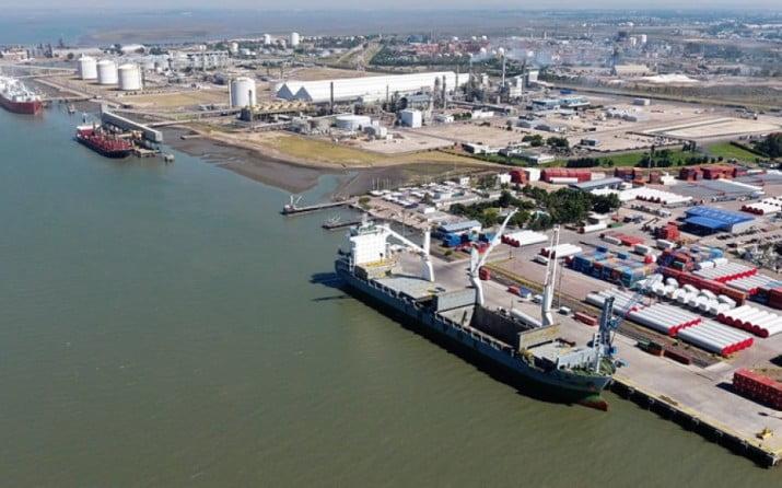 Crecen las exportaciones agroindustriales en el puerto