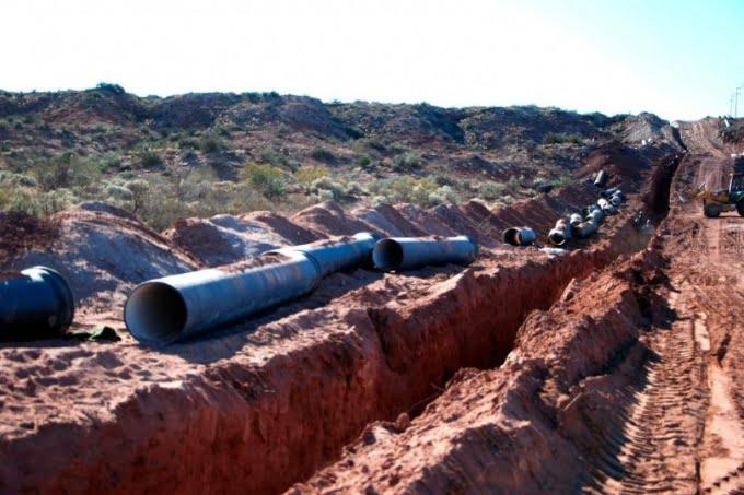 Vidal canceló la obra del acueducto del Río Colorado