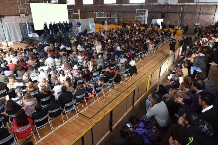 Más de 800 participantes en Bahía Blanca de la Mesa Distrital de Educación