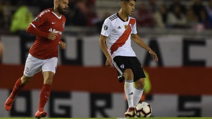 River empató con Inter de Porto Alegre por la Copa Libertadores