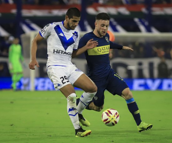 Boca rescató un empate ante Vélez en Liniers