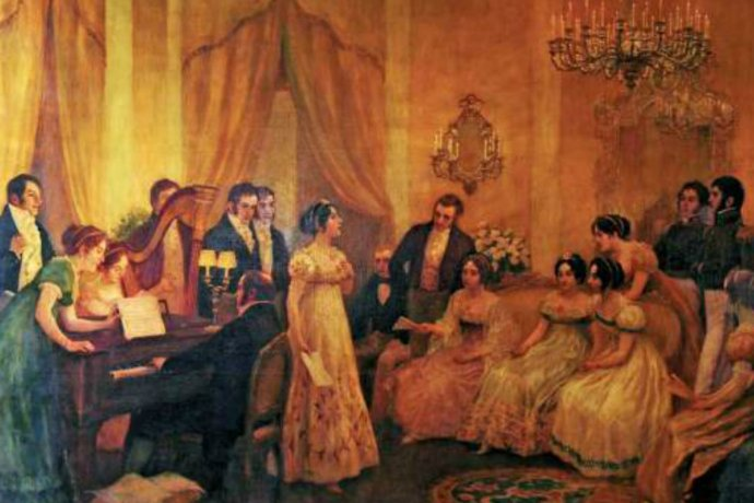Un 14 de mayo se cantó por primera vez el Himno Nacional Argentino