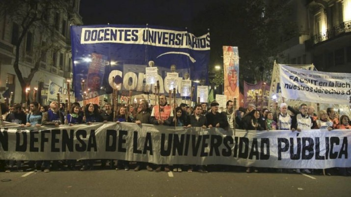 Universitarios y científicos encabezarán este jueves una Marcha de Antorchas