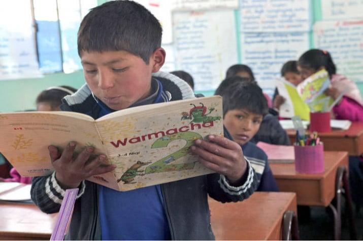 Nueve de cada diez chicos indígenas no reciben clases en su lengua