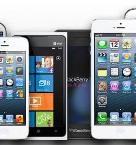 Cae la producción de celulares