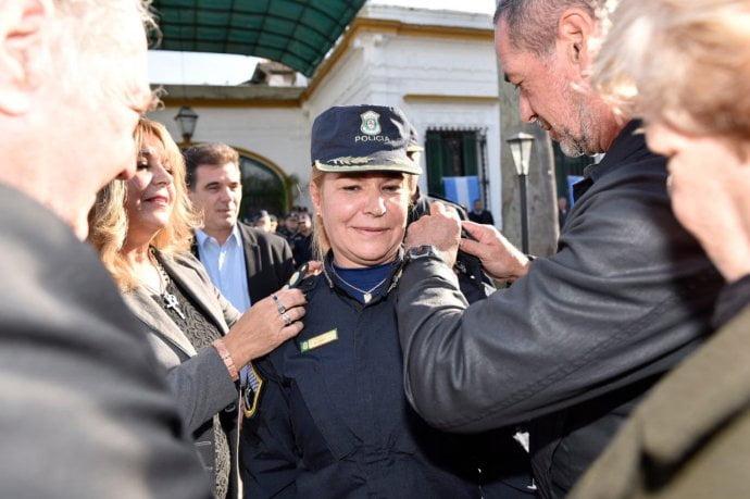 Cambios en cúpula de la Bonaerense: una mujer al frente de formación policial