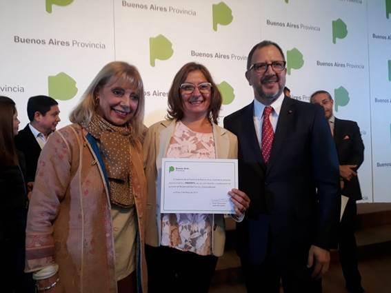 El gobierno de la provincia de Buenos Aires reconoció a Profertil por su labor