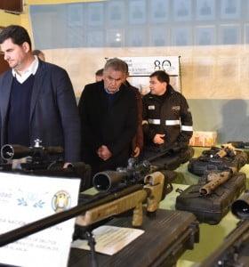Tráfico de armas: Burzaco pasó por la ciudad y dio detalles