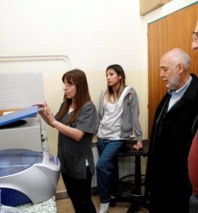 Profertil donó insumos y equipos de Hematología al Hospital Municipal