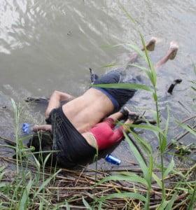 Otra imagen que expone la crisis migratoria
