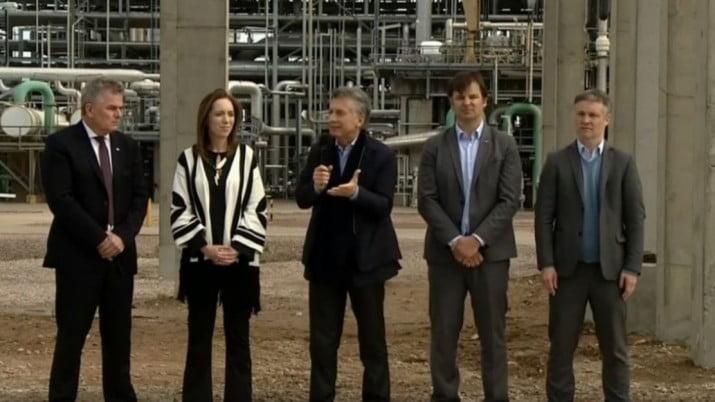 El día que Macri inauguró la obra en la planta que explotó