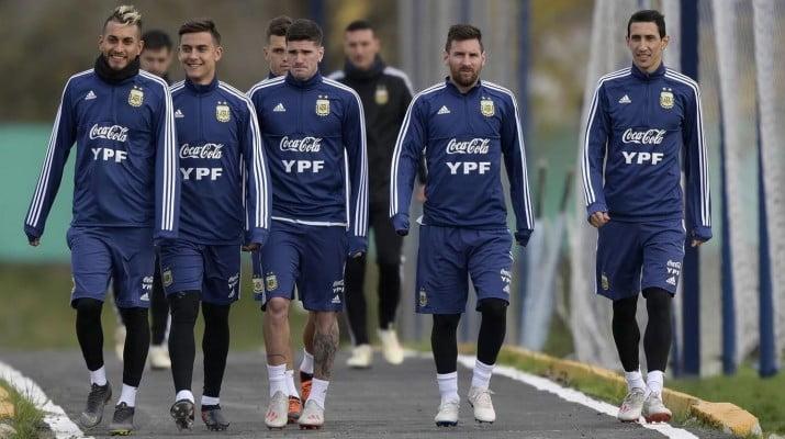 Argentina tiene equipo confirmado para enfrentar a Colombia