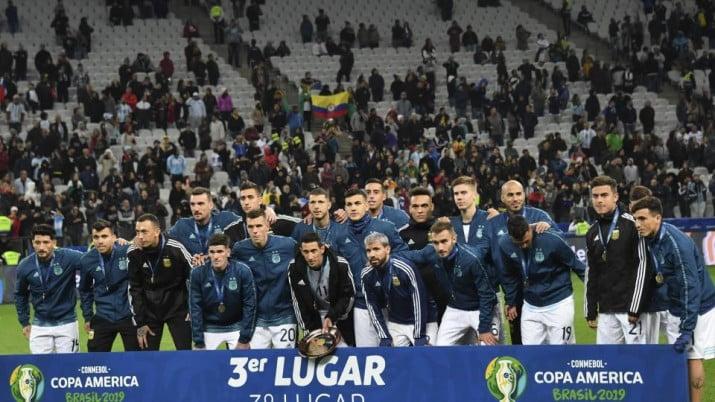 Argentina no jugará torneos de la UEFA