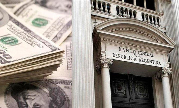 Las reservas en baja: cayeron 184 millones de dólares