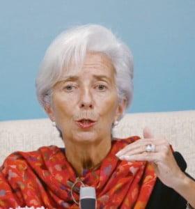 Lagarde presentó su renuncia y le puso fecha a su salida del FMI