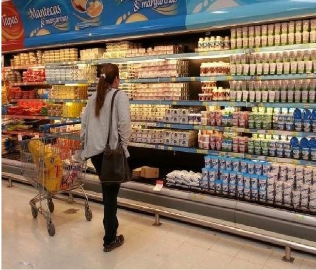 En medio de la crisis, los productos lácteos vuelven a aumentar un 25%