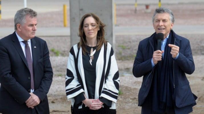 Macri y Vidal inauguraron el Parque Eólico Pampa III en Pehuen Co