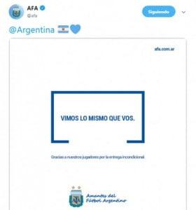 Dura carta de AFA a Conmebol reclamó por el mal arbitraje