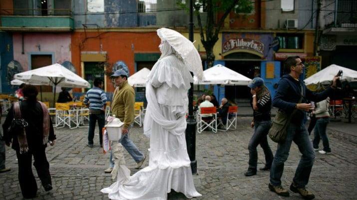 VII Encuentro Nacional de Estatuas Vivientes