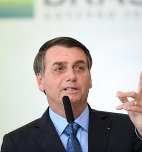 """Bolsonaro dijo que Fernández es """"el futuro presidente de Argentina"""""""
