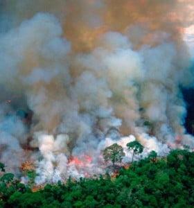 Se incendia el Amazonas mientras Bolsonaro se burla