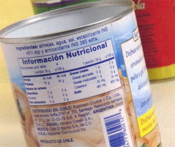 ¿Cómo leer las etiquetas en alimentos y bebidas?