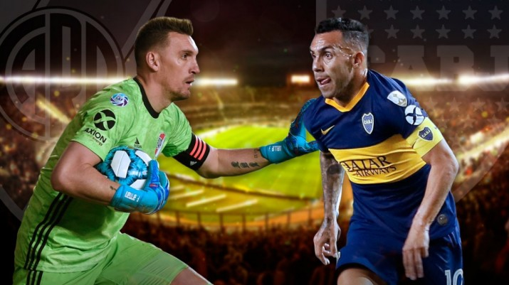 El Superclásico de River vs. Boca por la Superliga: horario, formaciones y TV