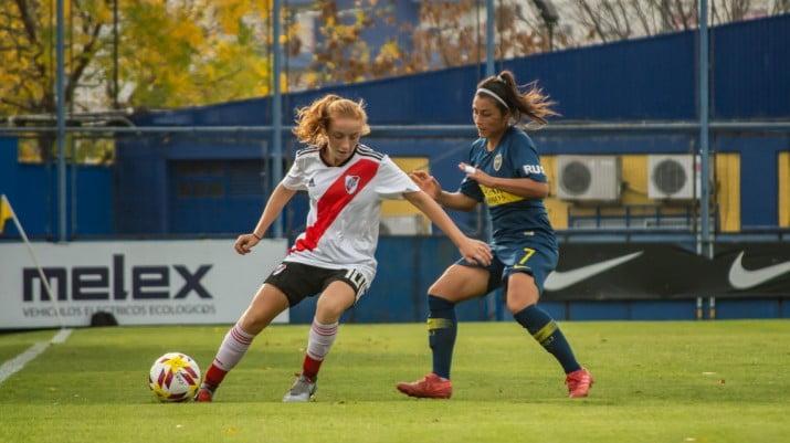 Fútbol femenino: se sorteó el fixture y habrá Superclásico en la primera fecha