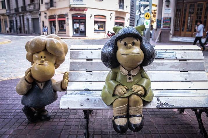 Mafalda cumple 55 años