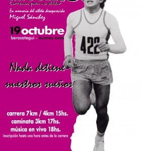 Miguel sigue corriendo una maratón contra el olvido