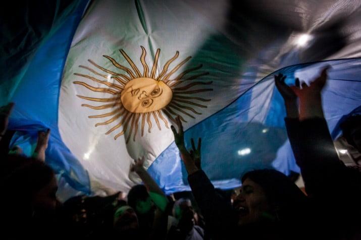 En Argentina, el estallido fue en las urnas