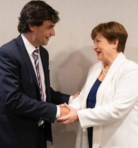 Lacunza y Sandleris terminaron la gira en el FMI con las manos vacías