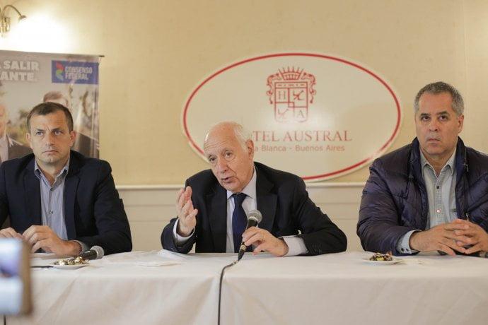 """Lavagna pidió desde Bahía Blanca, una transición """"lo más tranquila posible"""""""